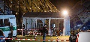 Deutsche Polizisten erschossen Flüchtling bei Messerangriff