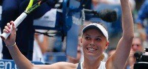 Wozniacki machte mit Sieg über Kusnezowa Schritt zurück