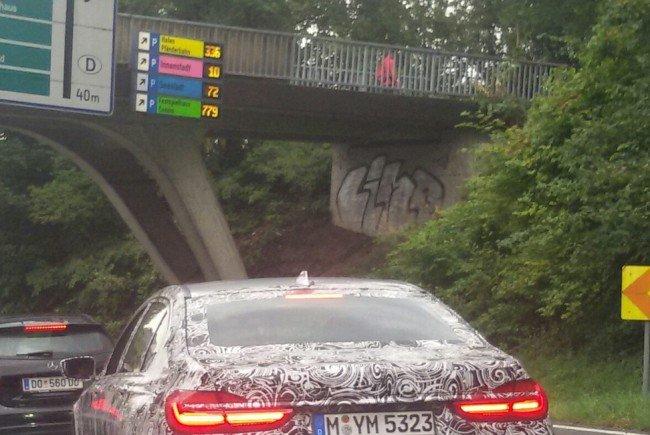 BMW-Erlkönig in Bregenz gesichtet