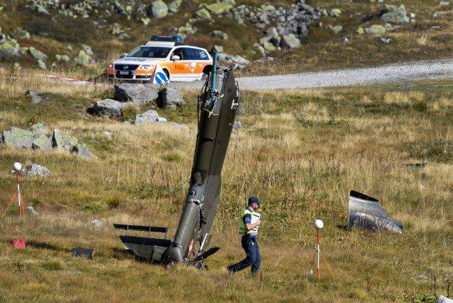 Zwei Piloten sterben bei Absturz eines Armeehelikopters