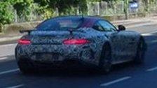 Mercedes-Erlkönig in Feldkirch unterwegs