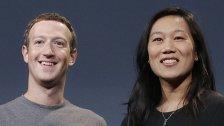 Zuckerberg und Ehefrau spenden drei Milliarden