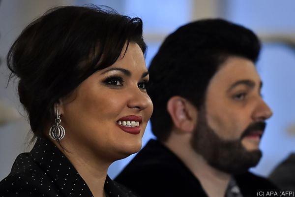 Netrebko mit ihrem Mann Yusif Eyvazov