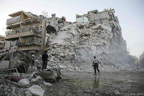 Aleppo braucht dringend eine Verschnaufpause.