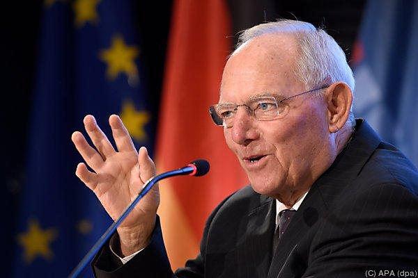 Schäuble freut sich schon auf Diskussionen