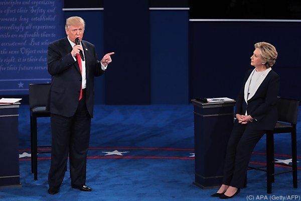 Von Präsidentschaftskandidat Donald Trump werden erneute Angriffe erwartet.