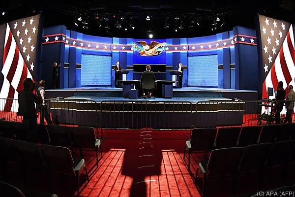 Spannung vor der dritten und letzten TV-Debatte