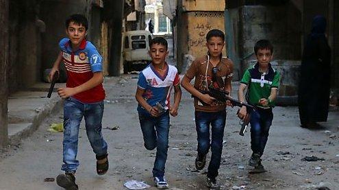 Selbstmordversuche unter verängstigten Kindern in Aleppo