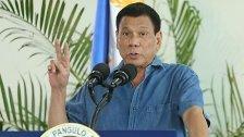 """Philippinen wollen keine """"Trennung"""" von den USA"""