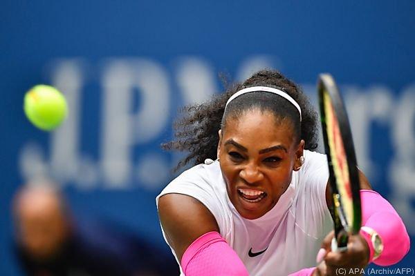 Serena Williams hat Schulterprobleme