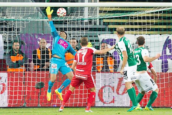 Die Austria tat sich trotz 2:0 gegen Mattersburg schwer