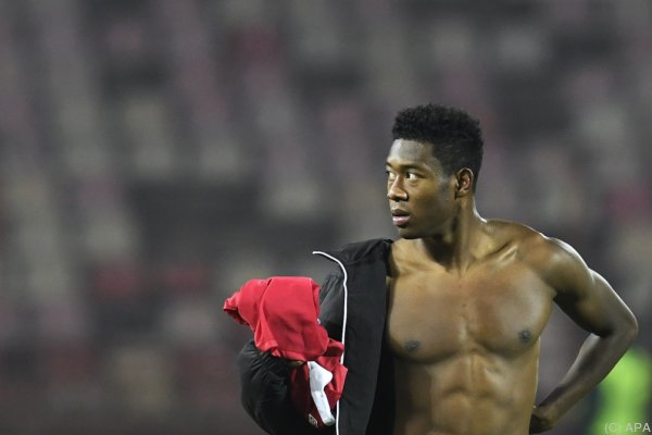 Alaba überall: Die Bayern-Star führt das Ranking klar an