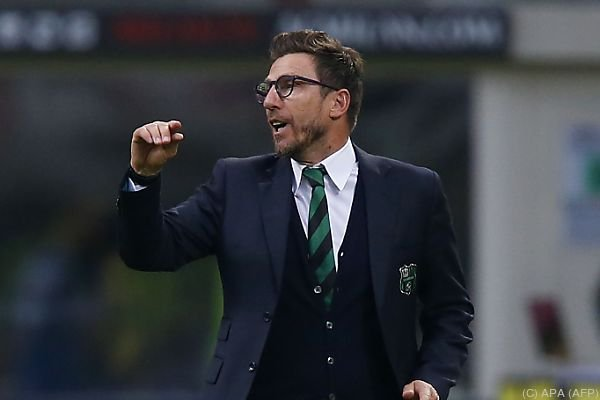 Eusebio Di Francesco streut Rapid Rosen