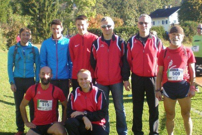 Die BLT Läufer lobten den bestens organisierten Auwaldlauf