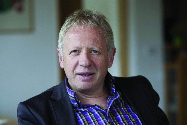 Christian Kopf, Leiter des Bildungshaus Batschuns, gestaltet den Auftakt der Vortragsreihe.