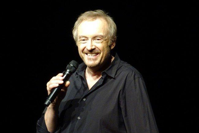 """Josef Hader präsentiert sein aktuelles Programm """"Hader spielt Hader"""" in Nüziders."""