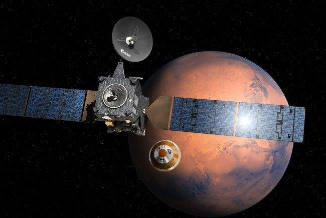 Die Marsmission der ESA geht in die entscheidene Phase.