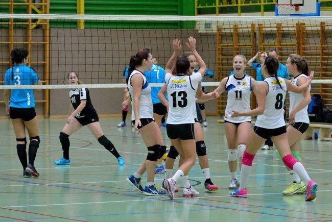 VC Dornbirn Ladies punkten auswärts