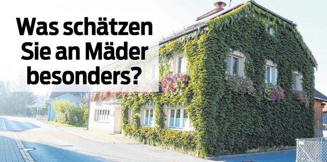 Ortsporträt Mäder, Donnerstag, 20. Oktober, in der VN-Heimat.