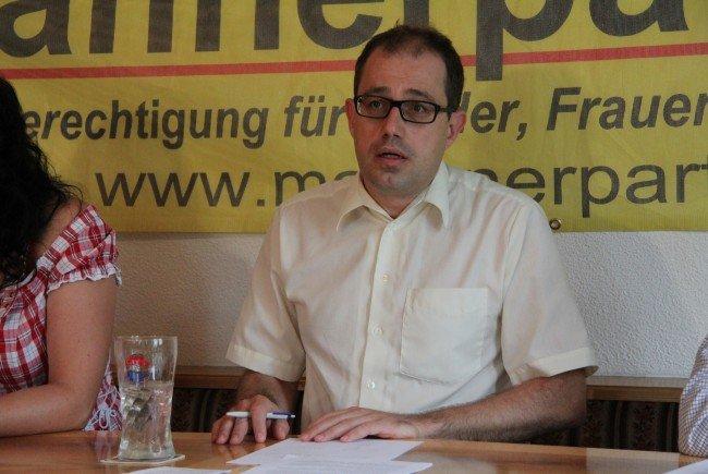 Männerparteichef Hannes Hausbichler