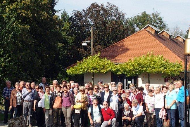 Die Vorderwälder Pensionisten in Heiligkreuztal