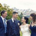Hochzeit von Sabrina Vonderleu und Domenic Salzgeber am 14. Oktober 2016