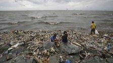 Zwei Tote durch Taifun auf den Philippinen