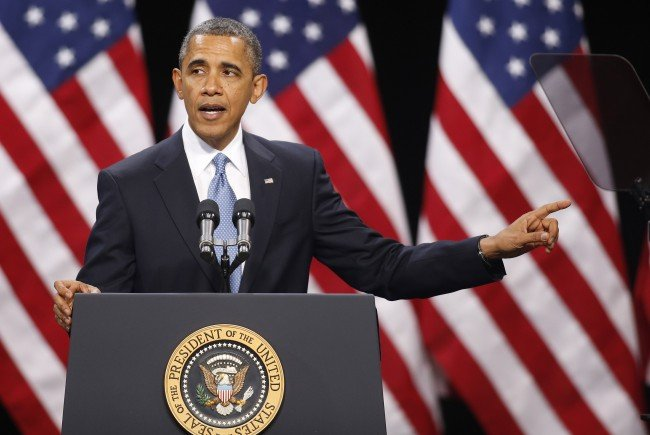 Barack Obama muss im November das weiße Haus verlassen.