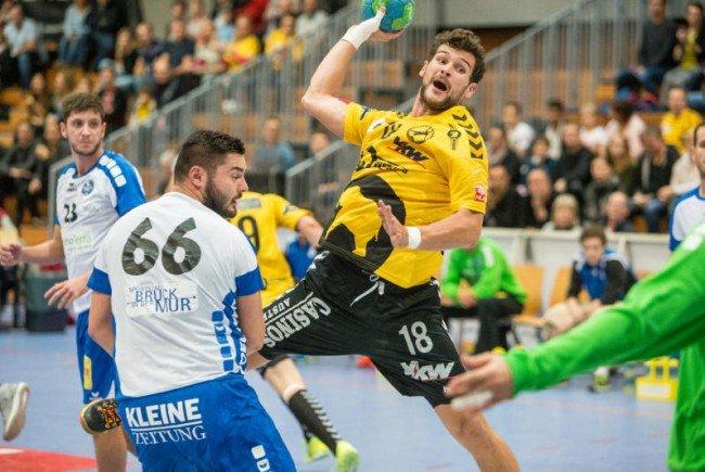 Bregenz Handball empfängt Meister Fivers