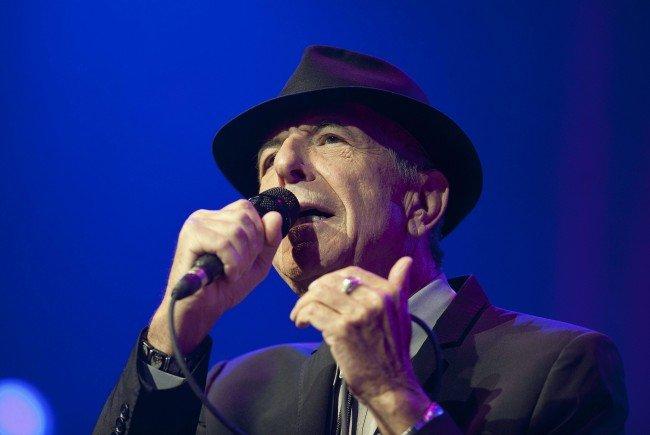 Leonard Cohen veröffentlicht ein neues Album