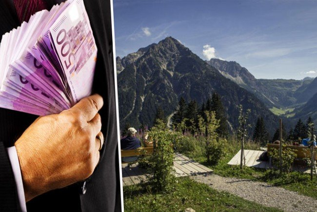 In Österreich geht es um Banken im Kleinwalsertal