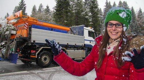 Winter gibt kurzes Stelldichein – Wetterbesserung ist aber in Sicht