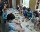 Kleine Bäcker, Töpfer und Sticker