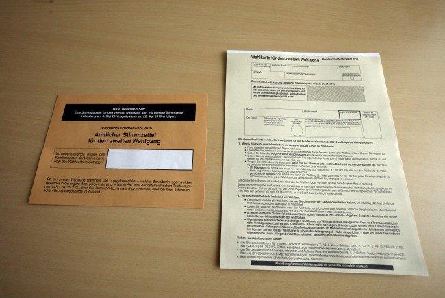 Eintragung in Wählerverzeichnis noch bis 27. Oktober möglich