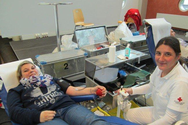 Blutspendeaktion in Doren