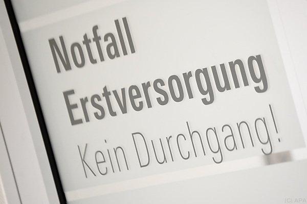 Der Jugendliche begab sich selbstständig in die Innsbrucker Klinik