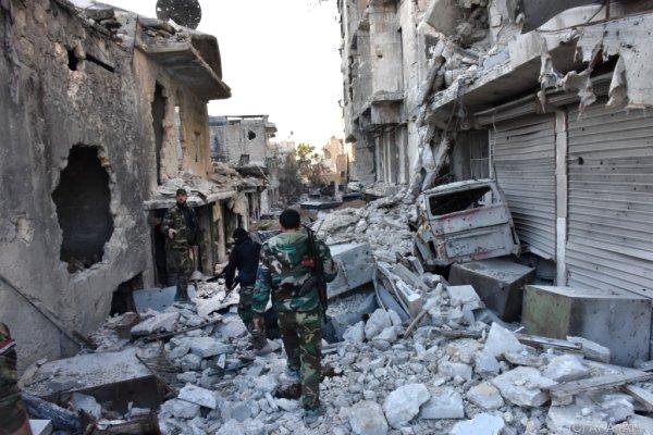Aleppo: Syrische Armee auf dem Vormarsch