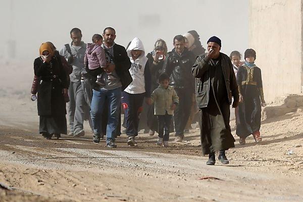 Jeder, der kann, flieht aus Mosul