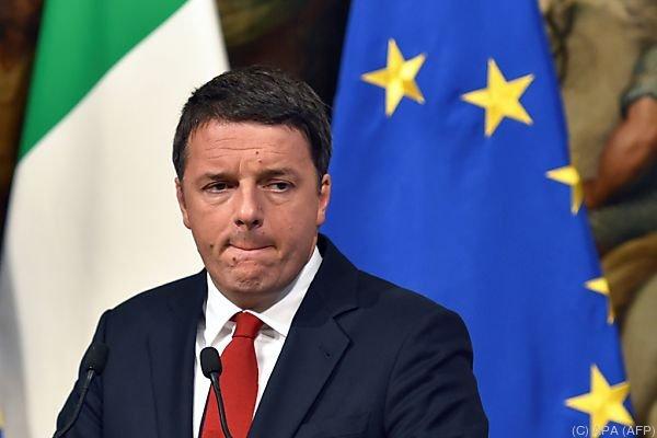 Renzis Zukunft steht auf dem Spiel
