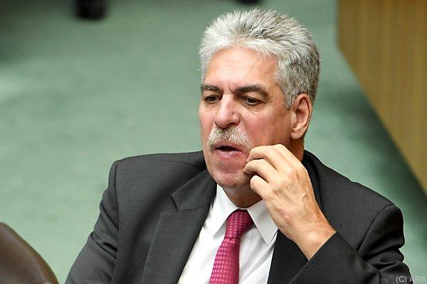 Der Finanzminister ist pikiert