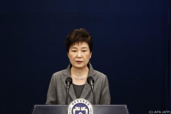 Park Geun-Hye kämpft um ihr politisches Überleben