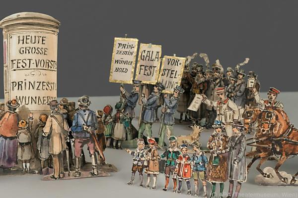 Im 19. Jahrhundert war Papiertheater sehr beliebt