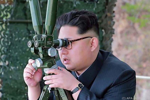 Nordkoreas Aufrüstung wird mit Sorge zur Kenntnis genommen