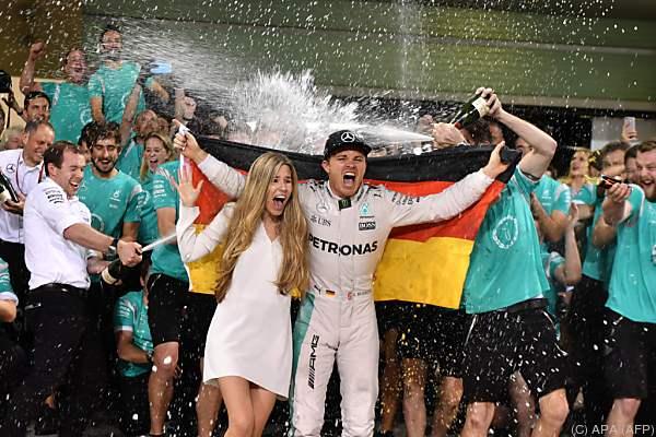 Der Deutsche feierte nach dem Saisonfinale ausgelassen