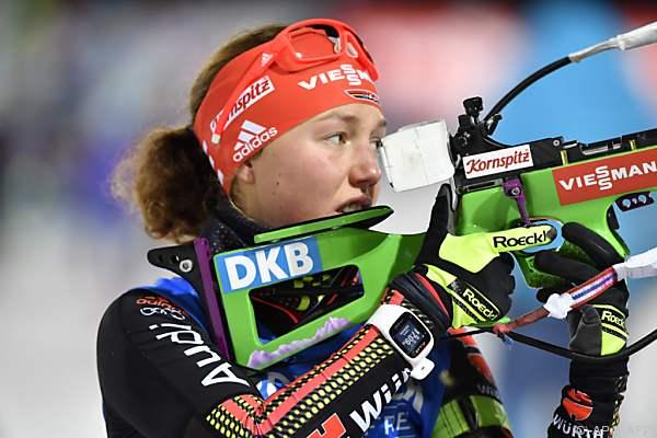Der Sieg ging an Laura Dahlmeier