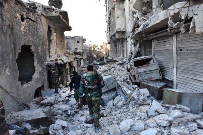 Aleppo kurz vor dem Fall.