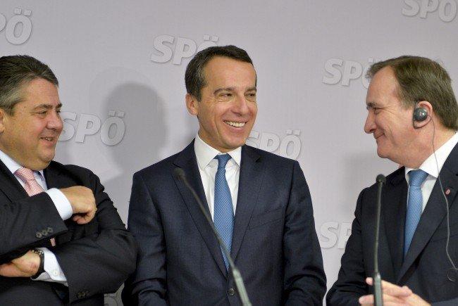 """Kern: """"Allianz bauen, die für einen Politikwechsel in Europa eintritt""""."""