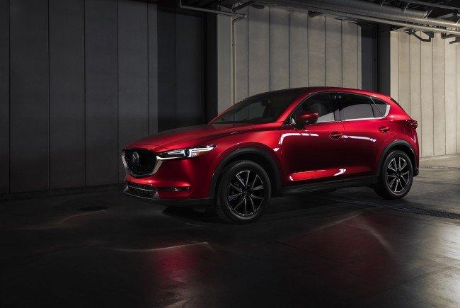 Der neue Mazda CX-5.