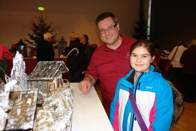 Die Besucher freuen sich bereits jetzt auf das Vereins-Highlight die Krippenausstellung im Rankweiler Vereinshaus