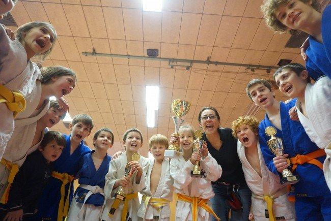 Junge Bregenzer Judokas die Besten